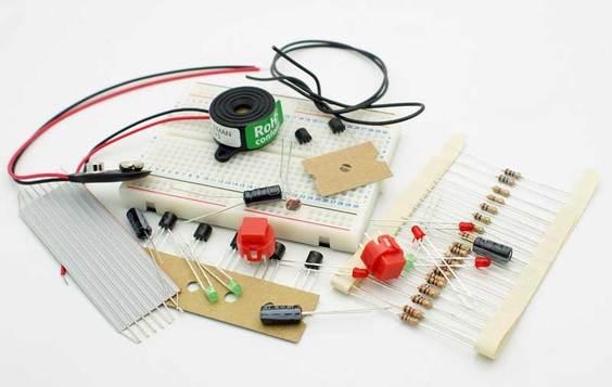 Velleman EDU01 - Solderless Breadboard Electronics Project