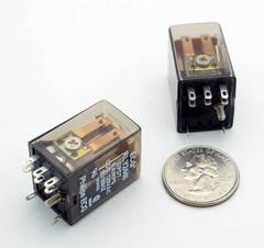 Relay: 120VAC DPDT 5 Amps
