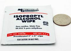 MG Isopropyl Alcohol Wipe - 50 Pack