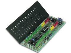 Stereo VU Meter with 2 rows of 15 LEDs Kit