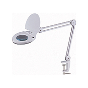"Extension Arm Magnifying LED Lamp (5"" Lens)"