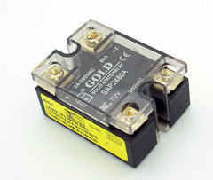 280 VAC @ 90A solid State Relay SPST N.O. DC Controlled