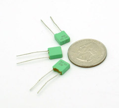 film capacitor 0.22 μF ±5% 63 volts Polyester
