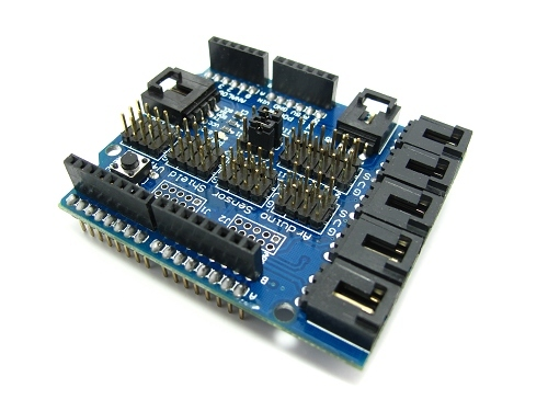 Arduino Uno Sensor/Servo Shield