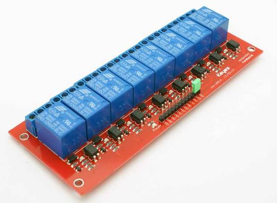 8-Channel Relay Module for Arduino on arduino rgb led, 4 wire switch diagram, relay terminal number diagram, arduino transistor, isolating relay diagram, solid state motor starter control diagram, solid state relay diagram,