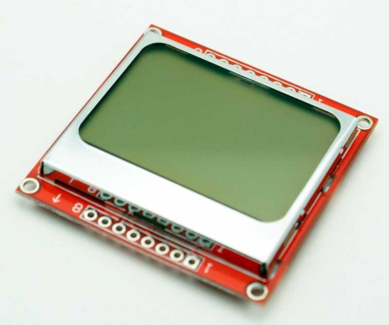 Nokia 5110 LCD Board