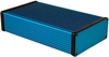 220 x 125 x 51.5MM Aluminum Extruded Box -  Blue Anodized
