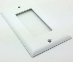 Single Gang Decora Plate (Blank Plate)