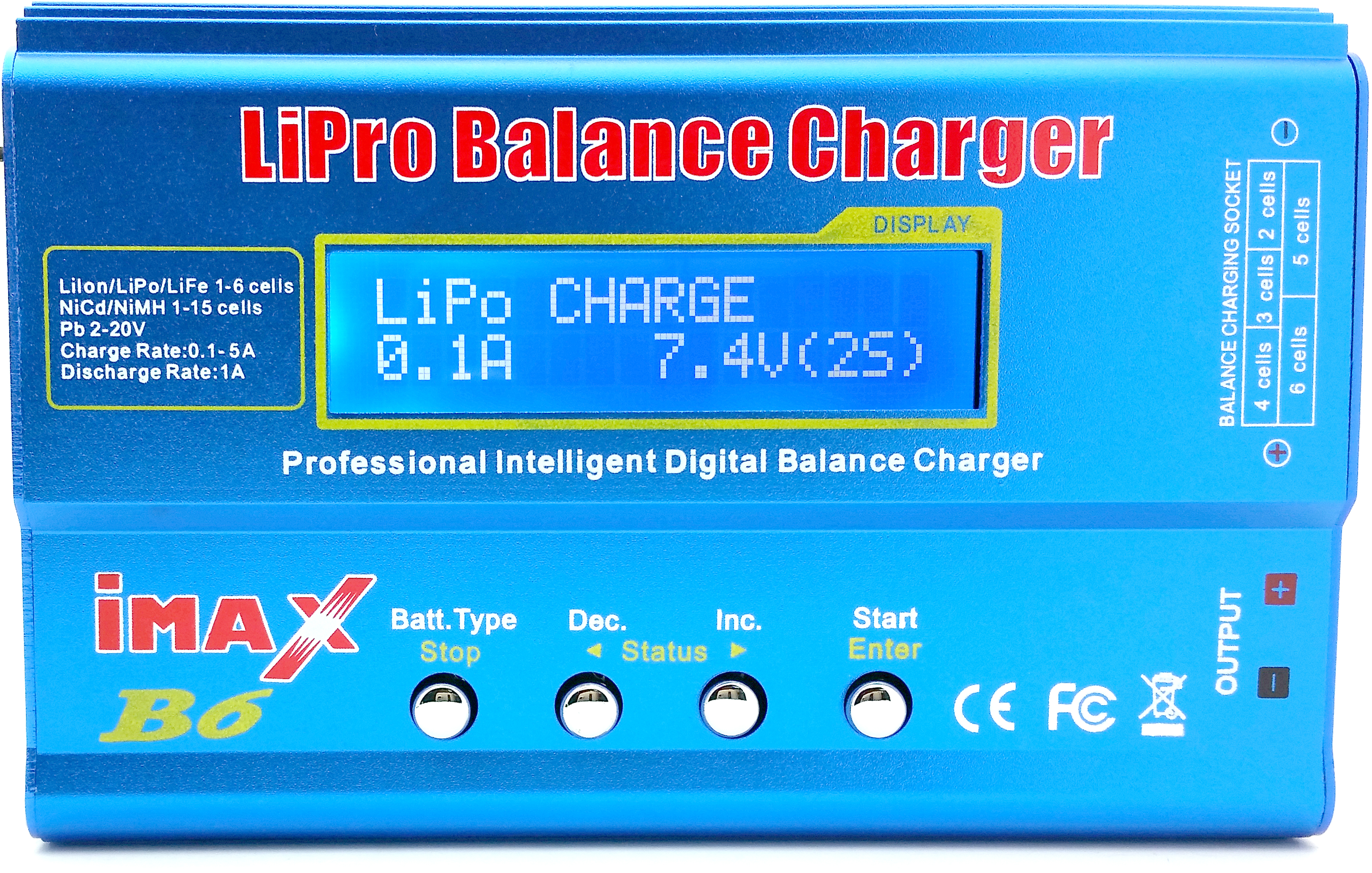 Velleman Vle8 Advanced Li Po Ion Charger Lipo Liion Device For Lithium Polymer Battery