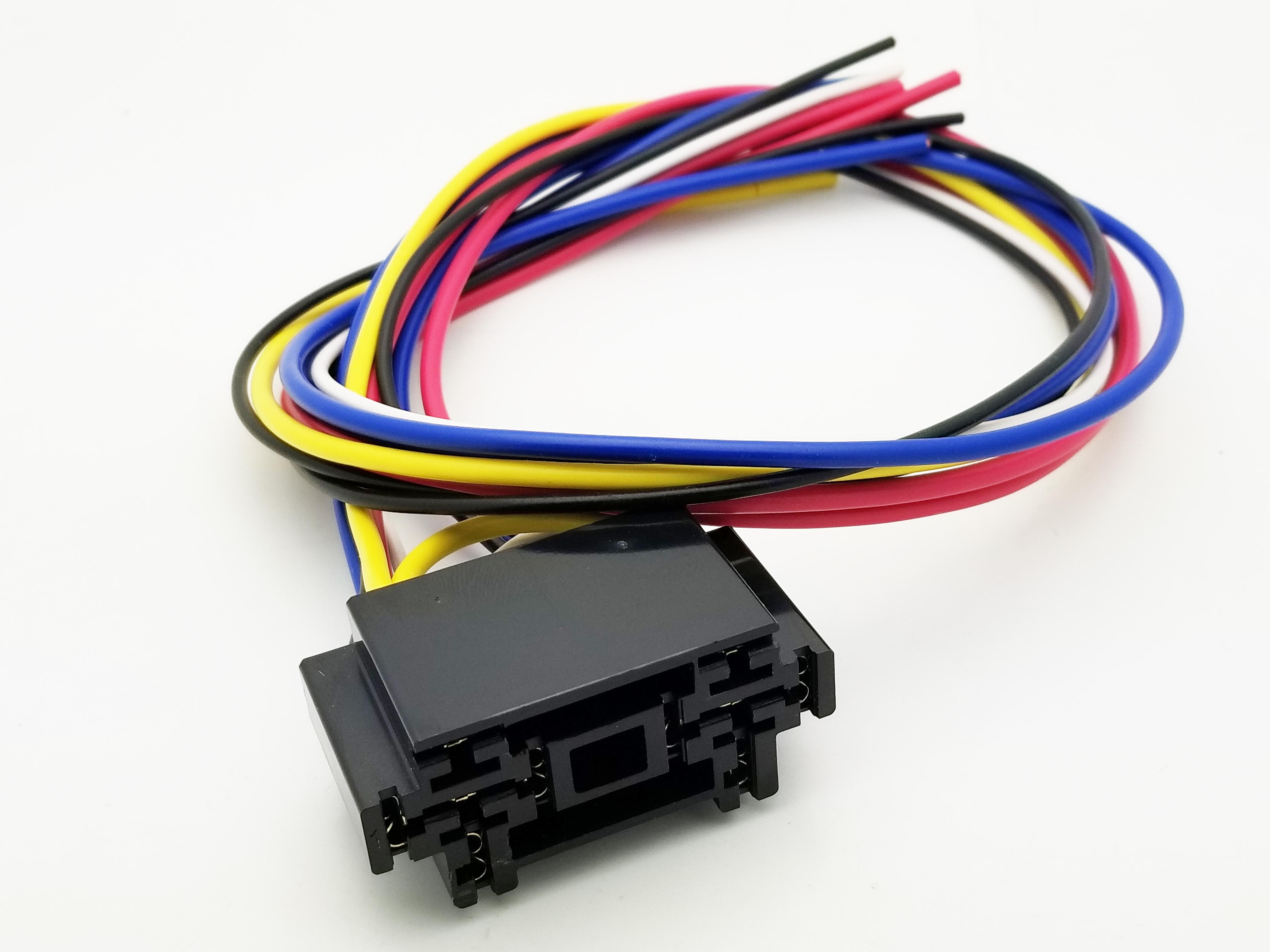 Dual 40A Automotive Relay Socket
