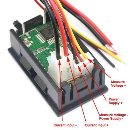 led volt amp meter 0 00 to 100 vdc 3 2 wire rh vetco net