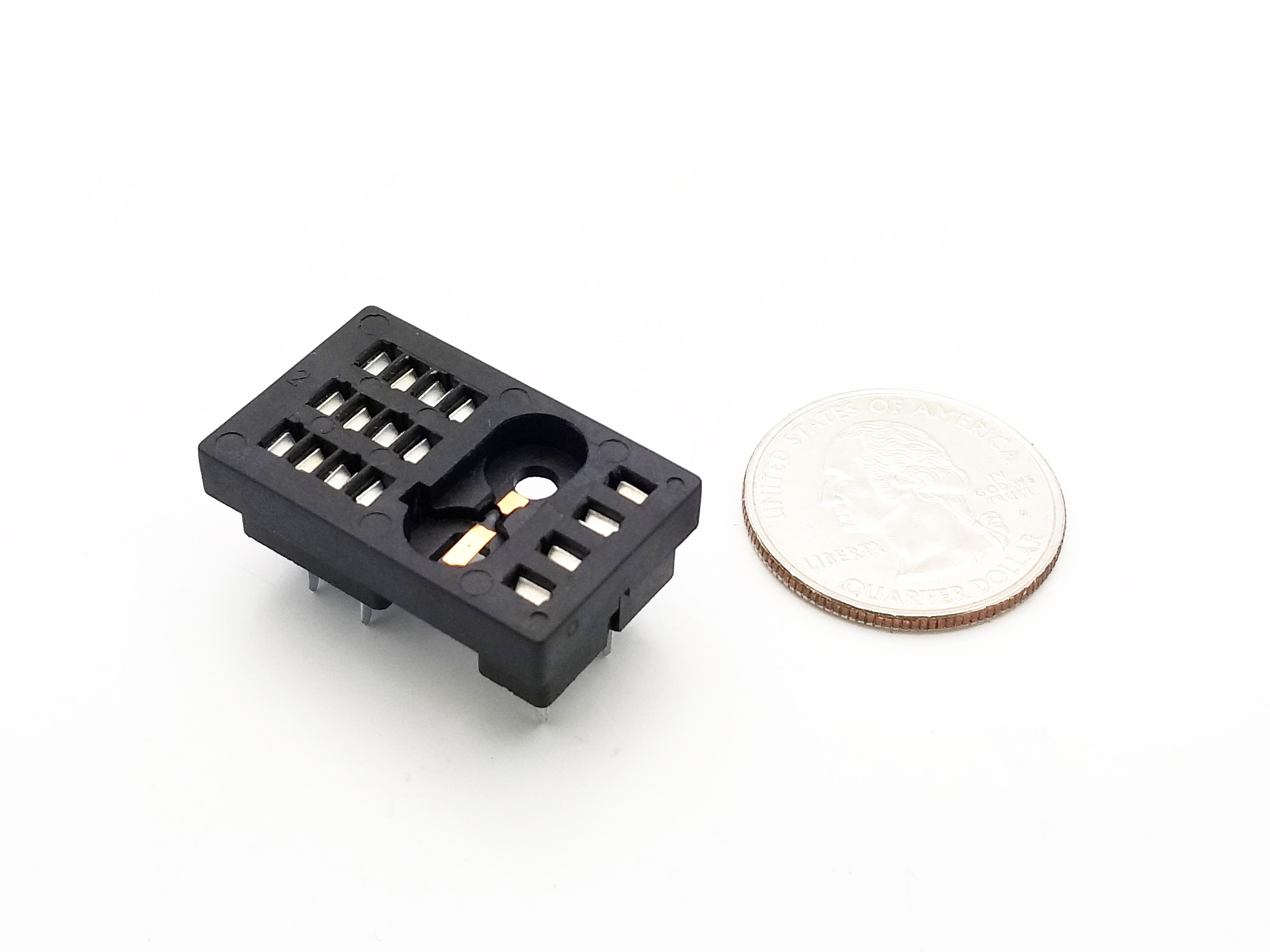 16 Pin Blade Relay Socket Pcb Mount 8 Datasheet