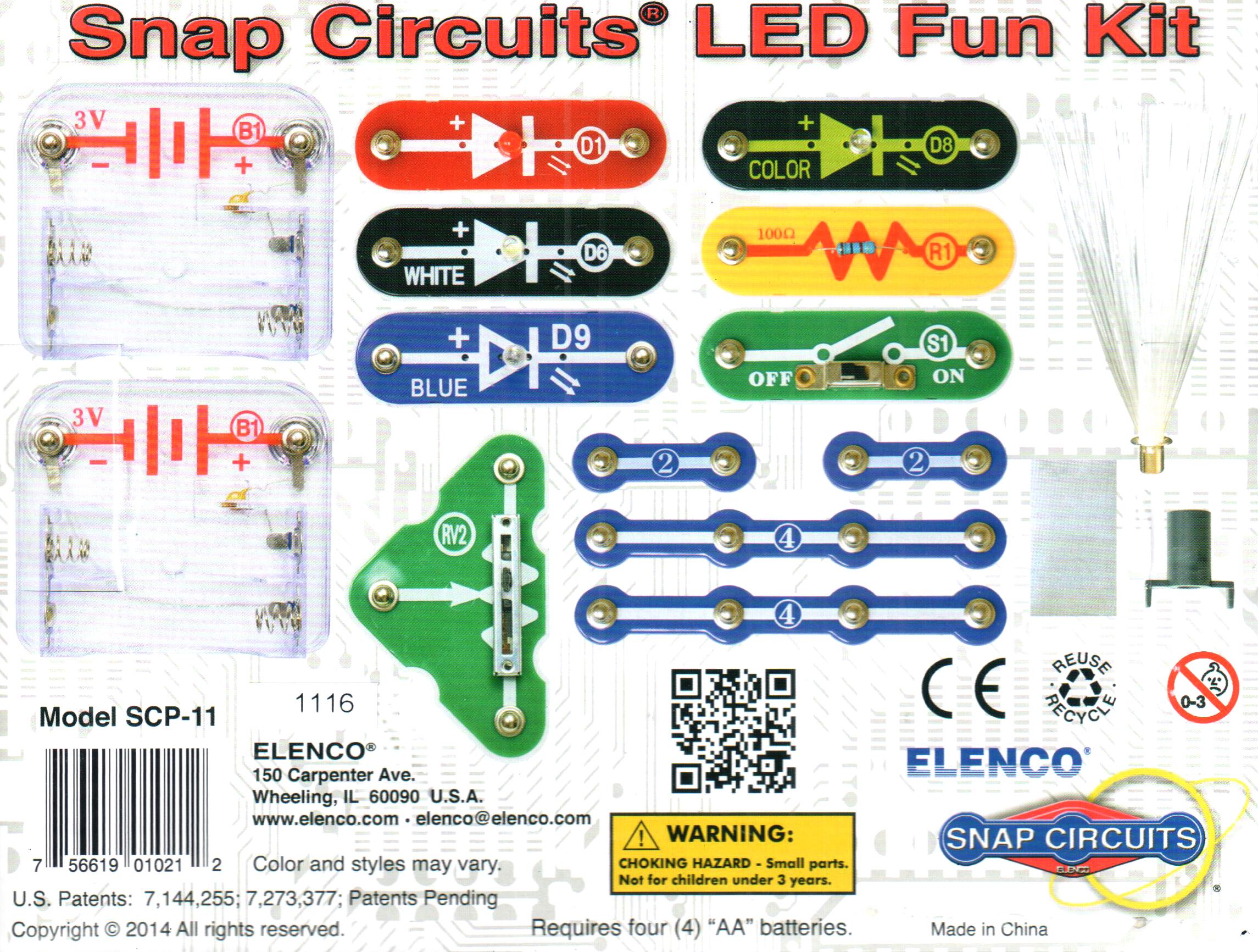 Snap Circuit Led Fun Kit Educational That Together Easily You Also Get An Elenco Circuits