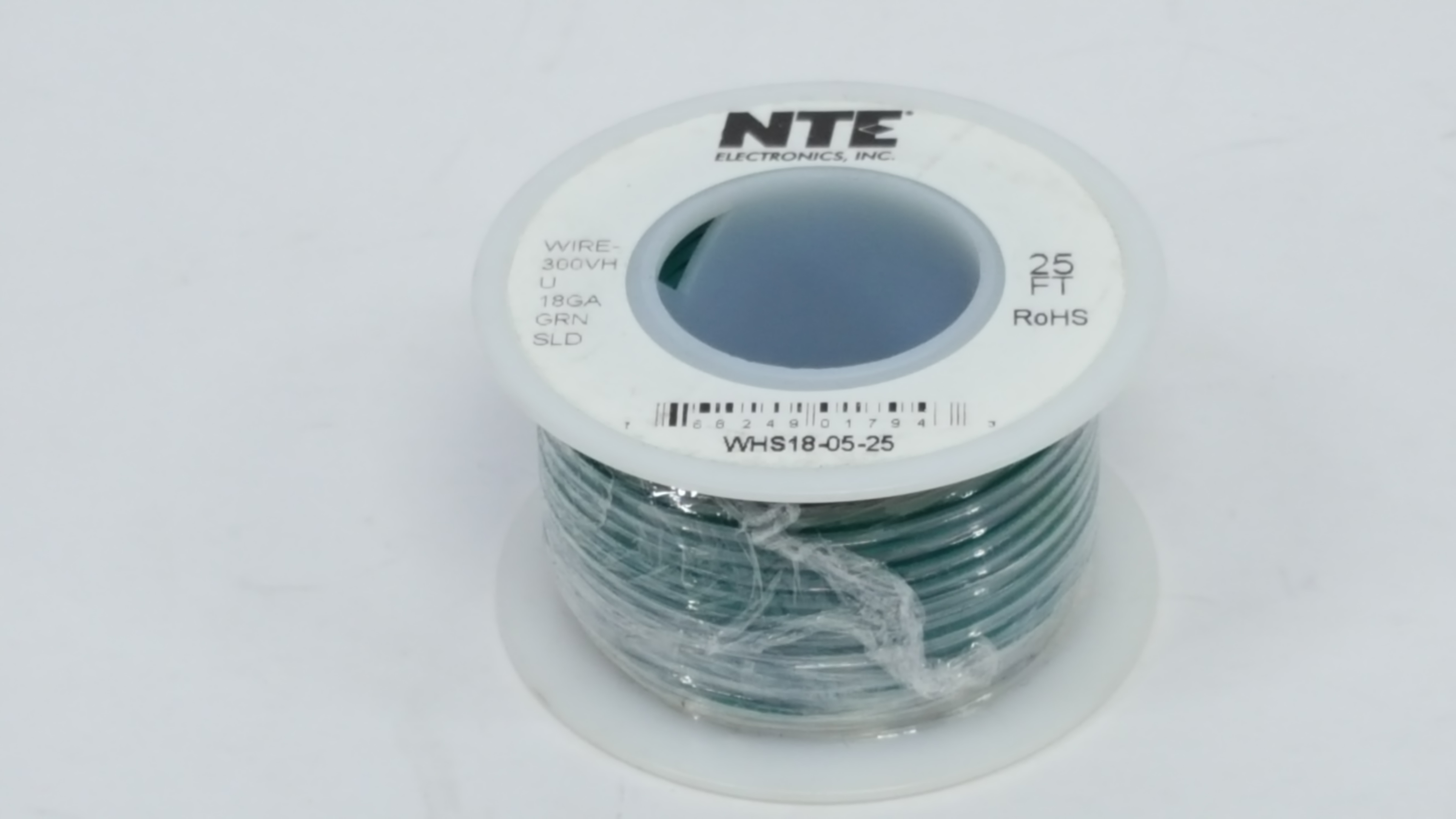 18 AWG Solid Single Conductor Hookup Wire - 25\' - Vetco Electronics