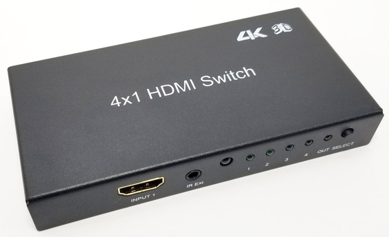 4-Way HDMI Switch - 4k capable