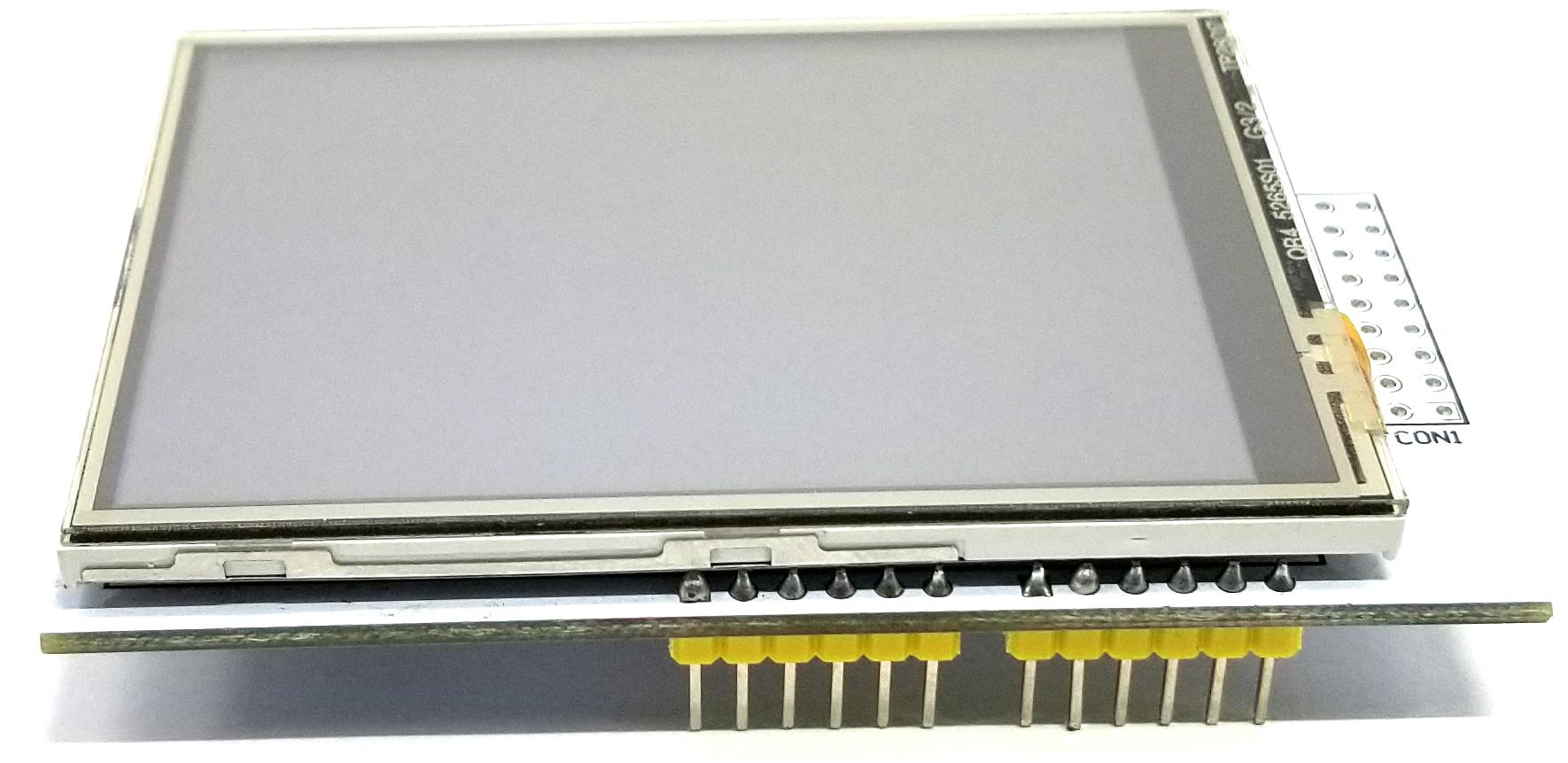 Arduino Color Touchscreen Shield