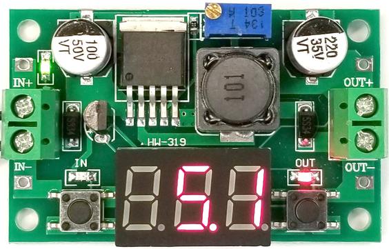 DC-DC Voltage Regulator lm2596 Step-Down Regulator Adjustable