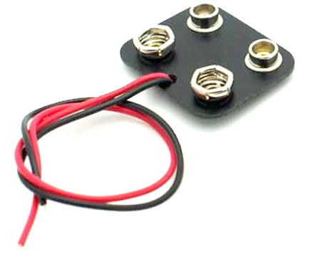 Dual 9V Battery Connector (Parallel Wired) Wiring V Batteries In Parallel on capacitors in parallel, power supplies in parallel, switches in parallel, 9v battery in parallel, chargers in parallel, 12 volt battery in parallel, resistors in parallel,