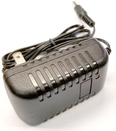 9V 500mA DC Power Supply w/2 1mm Plug
