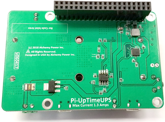 Uninterruptible Power Supply (UPS) HAT For Raspberry Pi (PI